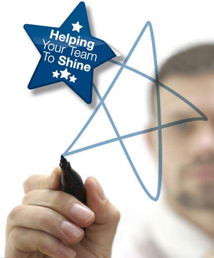 Helping your team to shine*